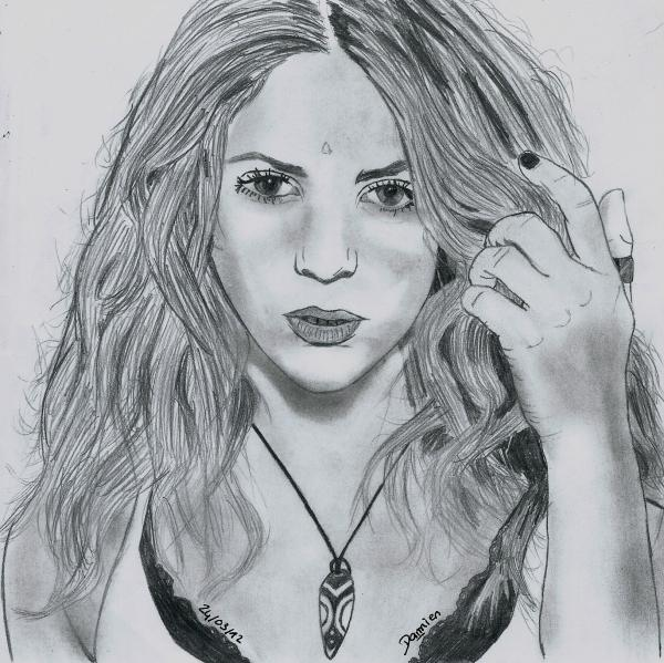 Shakira por gohansaiyen2